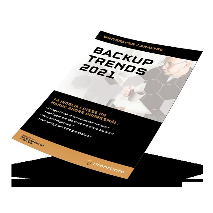 Nyt whitepaper - Backup trends 2020